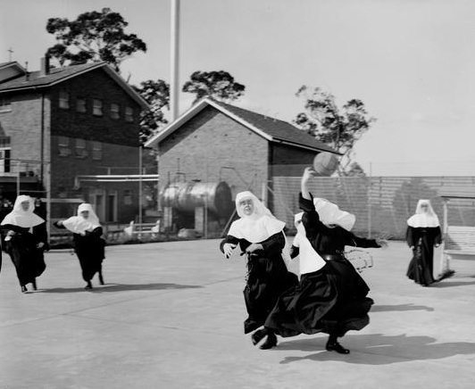 Nuns In The Playground