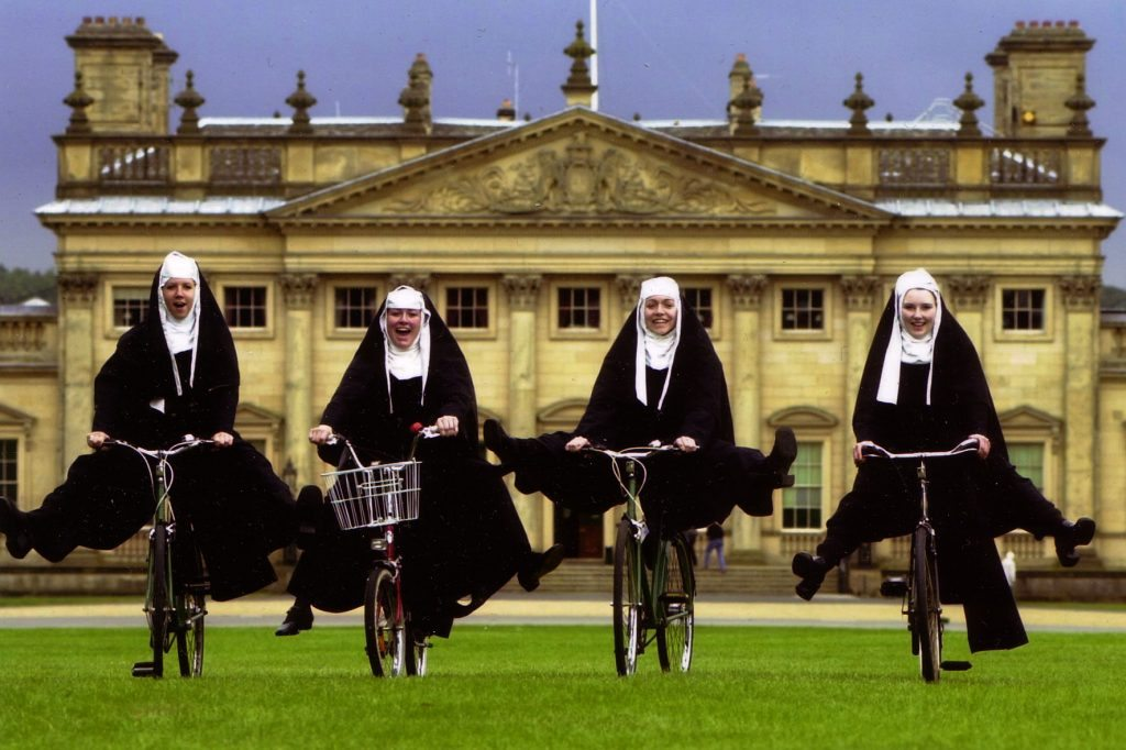 Watch out, there are Nuns about