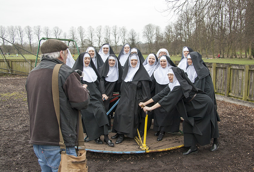 The Nuns Are Lined Up To Be Shot