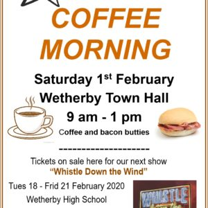 Coffee morning 1 Feb 2020